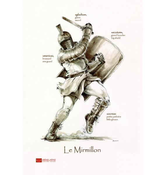 Microfibres Les Gladiateurs Des Arènes De Nîmes pour Gladiateur Dessin