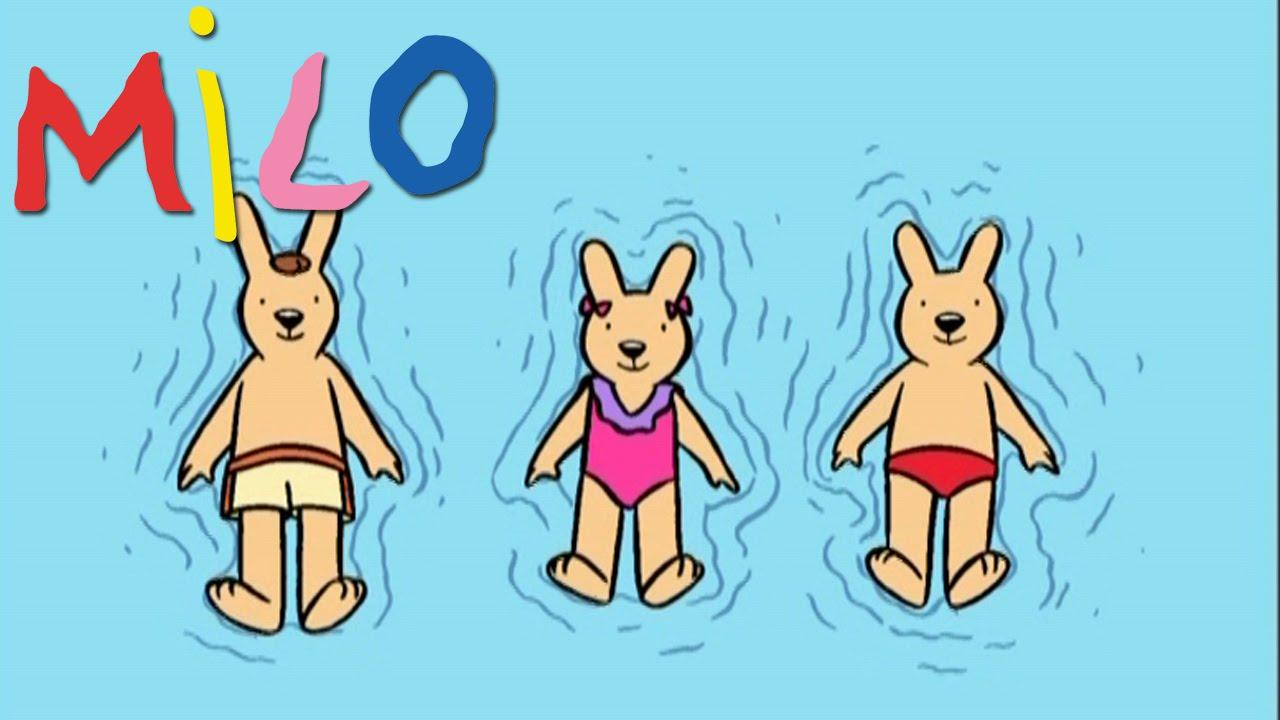 Milo - Milo À La Piscine S02Ep06 | Dessin Animé Pour Les dedans Dessin Enfant