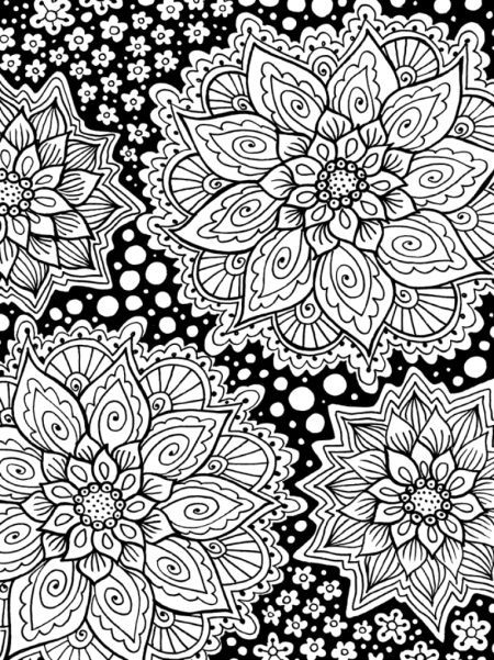 Mindful Flowers #Adult #Colouring | Mandala Coloring Pages serapportantà 100 Greatest Mandala Coloring Book: