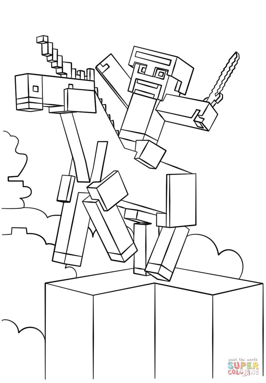 Minecraft Batman E Superman Come Disegnare E Colorare intérieur Coloriage Minecraft