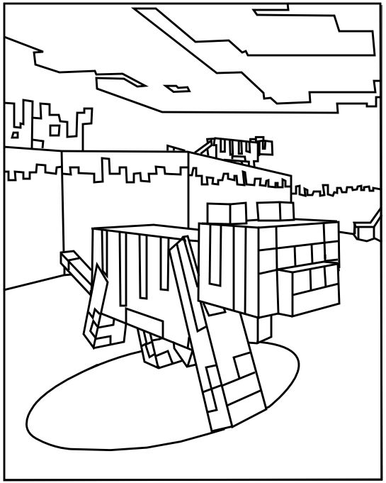 Minecraft Coloring Pages | Coloring Pages, Minecraft à Coloriage Minecraft