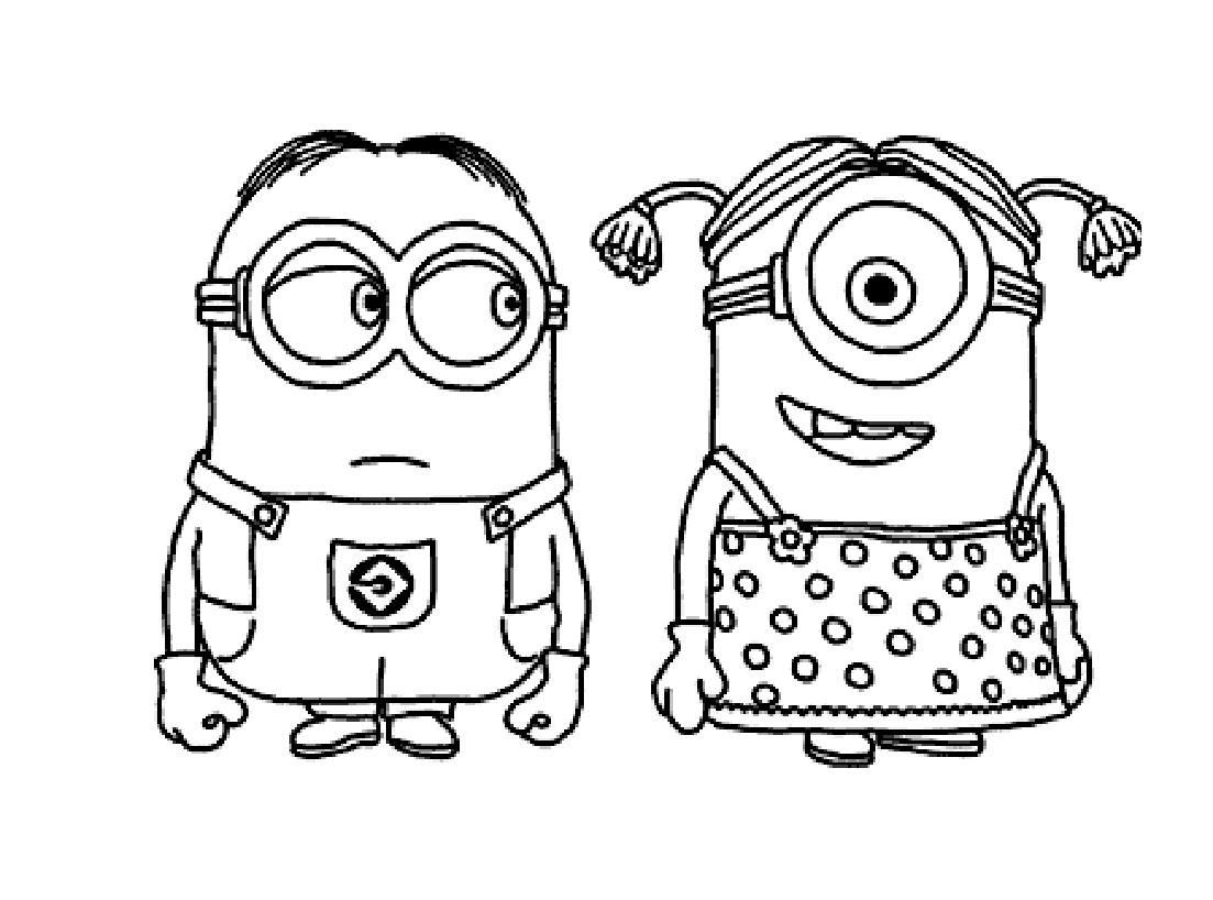 Minions 3 - Coloriage Minions - Coloriages Pour Enfants destiné Coloriage Minion