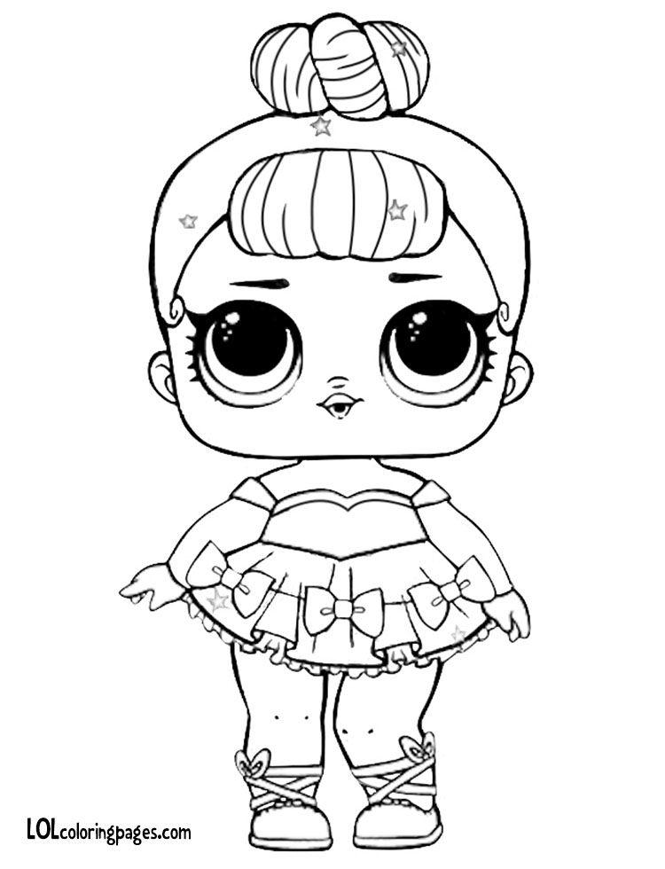 Miss-Baby-Glitter 750×980 Pixels | Tegninger destiné Coloriage Poupee Lol