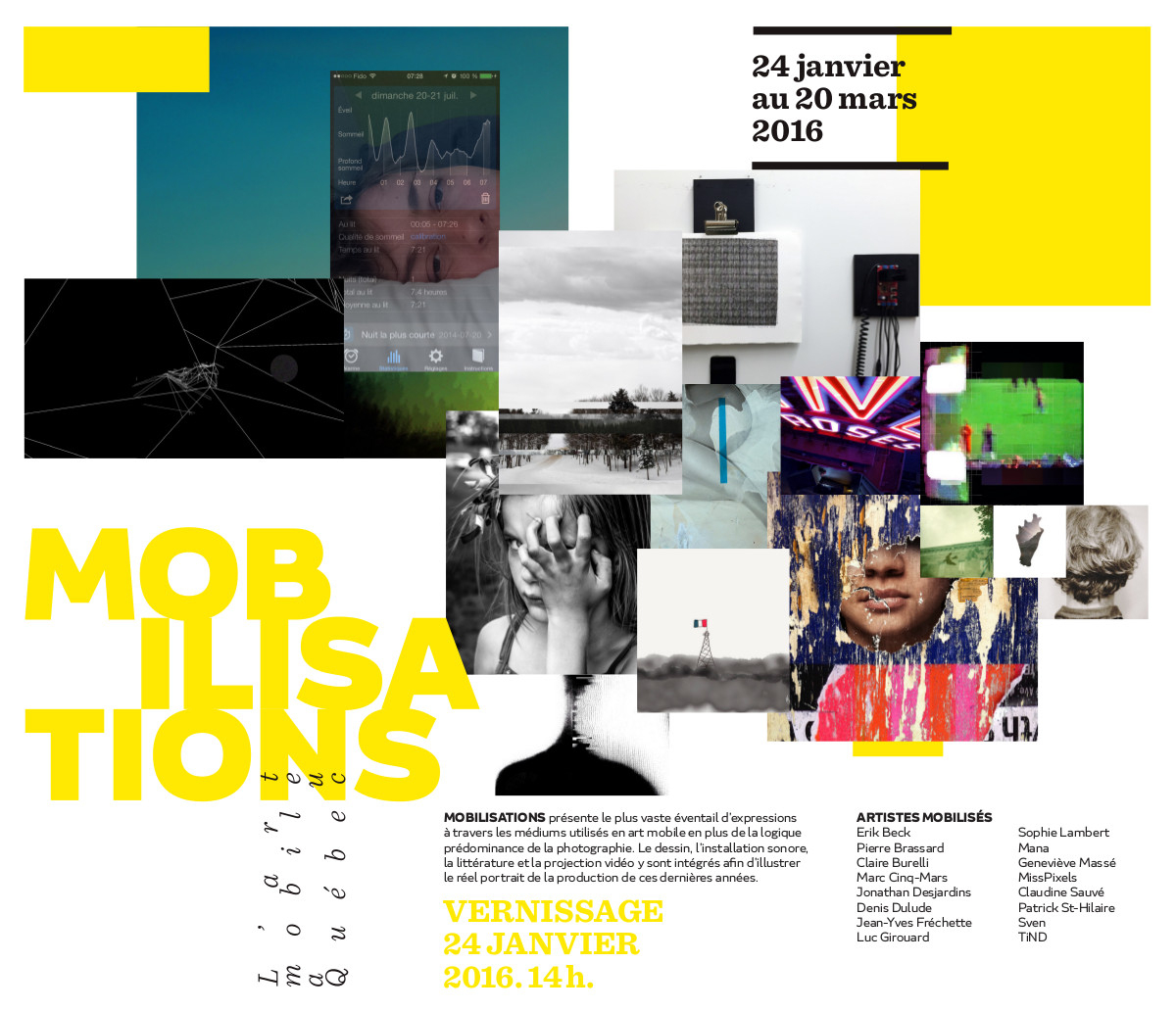 Mobilisations_12X12_Affiche_Final_22Dec - Maison De La serapportantà Arts Plastiques Programmation Techniques