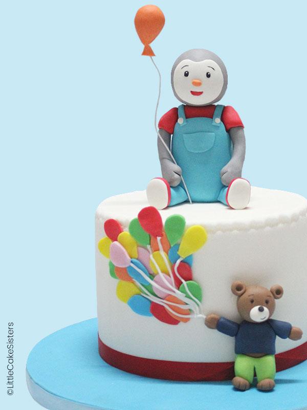 Modelages Tchoupi Et Doudou - Féerie Cake encequiconcerne Tchoupi Et Doudou