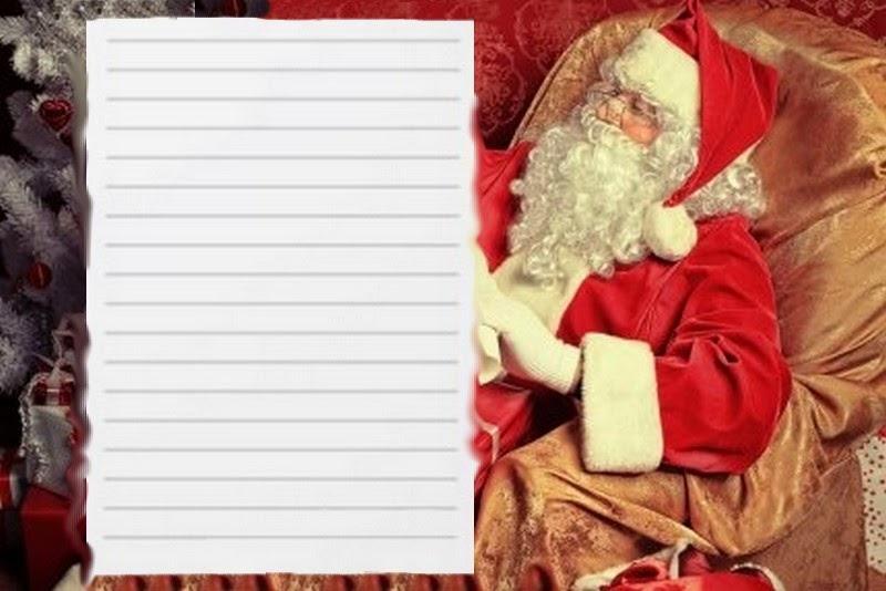 Modele Lettre Reponse Du Pere Noel A Imprimer encequiconcerne Papier À Lettre Pere Noel