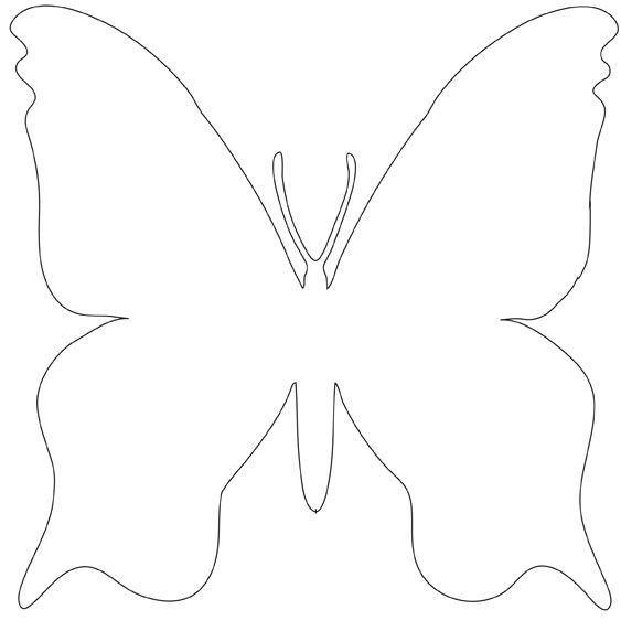 Modele Papillon A Decouper - Ohbq tout Dessin Papillon À Découper