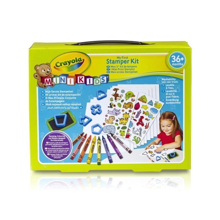 Mon 1Er Coffret De Coloriage Et Gommettes Mini Kids dedans Feutres Coloriage Pas Cher