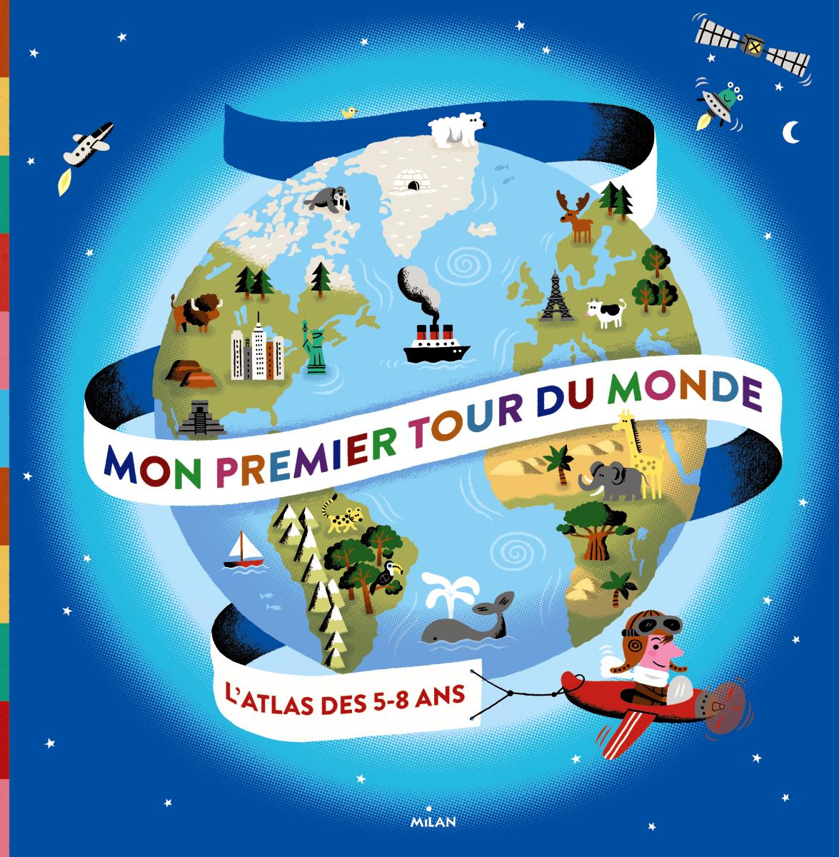 Mon Premier Tour Du Monde - Editions Milan intérieur Dessin De Tout Les Animaux Du Monde