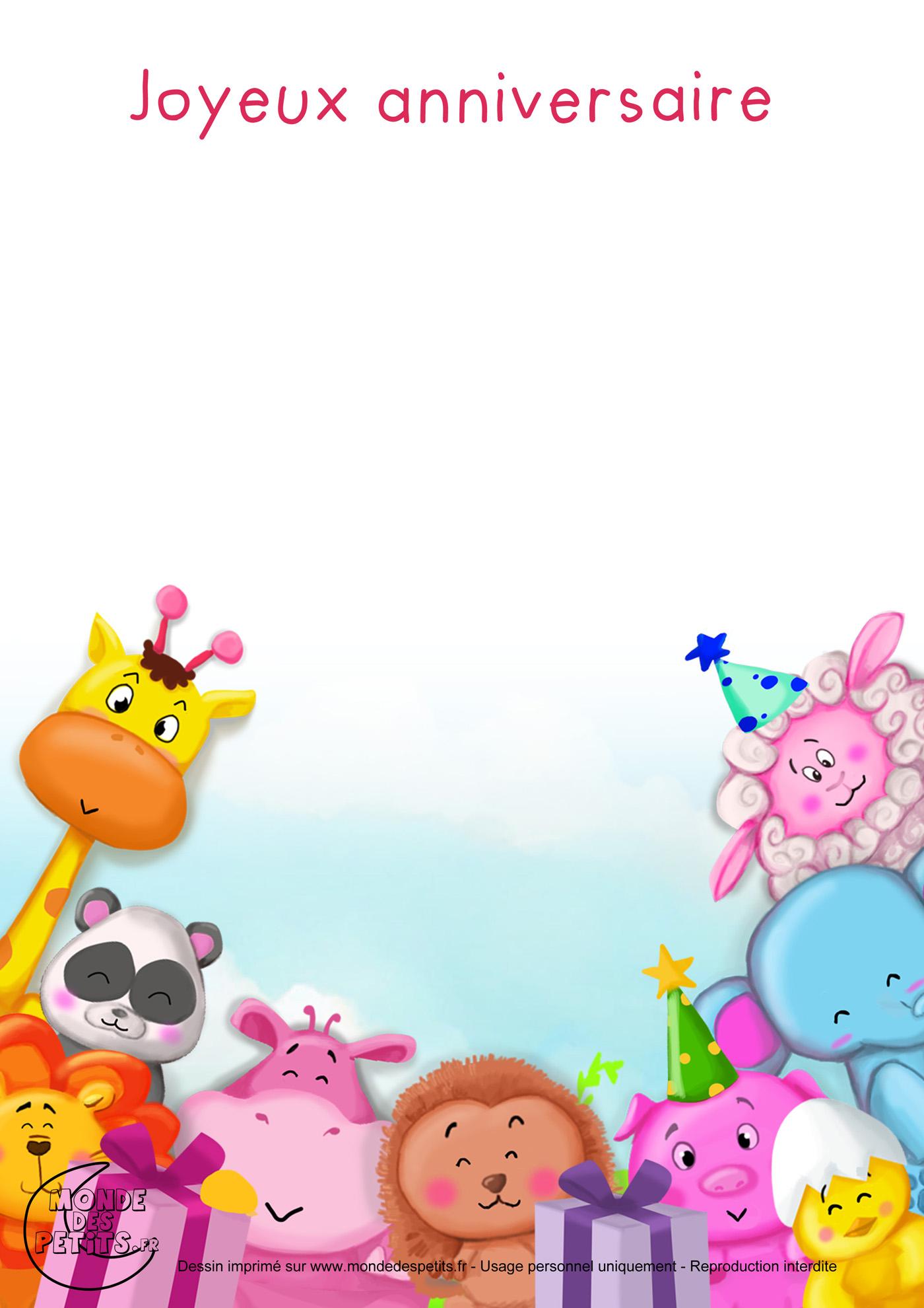 Monde Des Petits - Joyeux Anniversaire - Chanson Pour Enfants encequiconcerne Les Chansons Pour Les Petit Gratuit