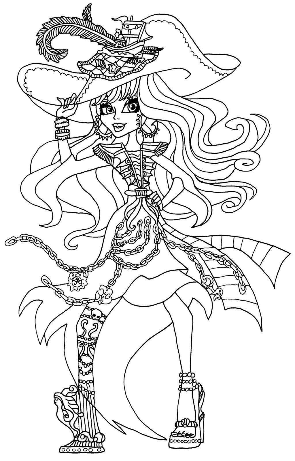 Monster High Coloring Pages Vandala - Google Search avec Coloriage Monster High A Imprimer