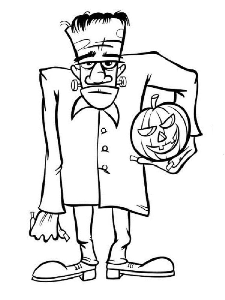 Monstres D'Halloween : Les Coloriages destiné Dessin Halloween À Imprimer Gratuit