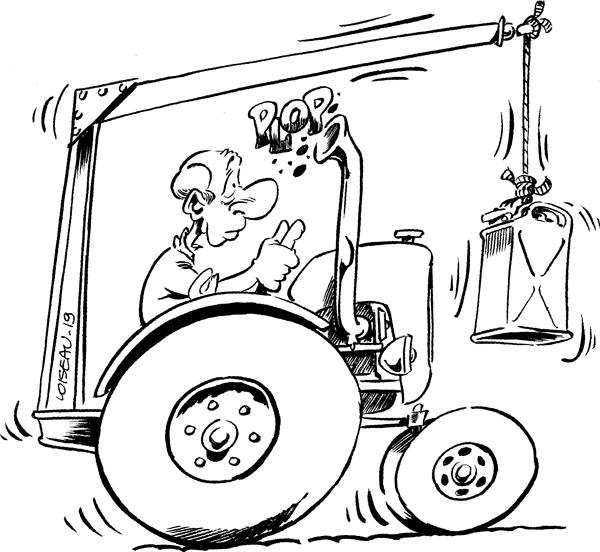 Mot-Clé - Tracteur - Le Blog Qui Nuit (Très) Grave encequiconcerne Dessin D Un Tracteur