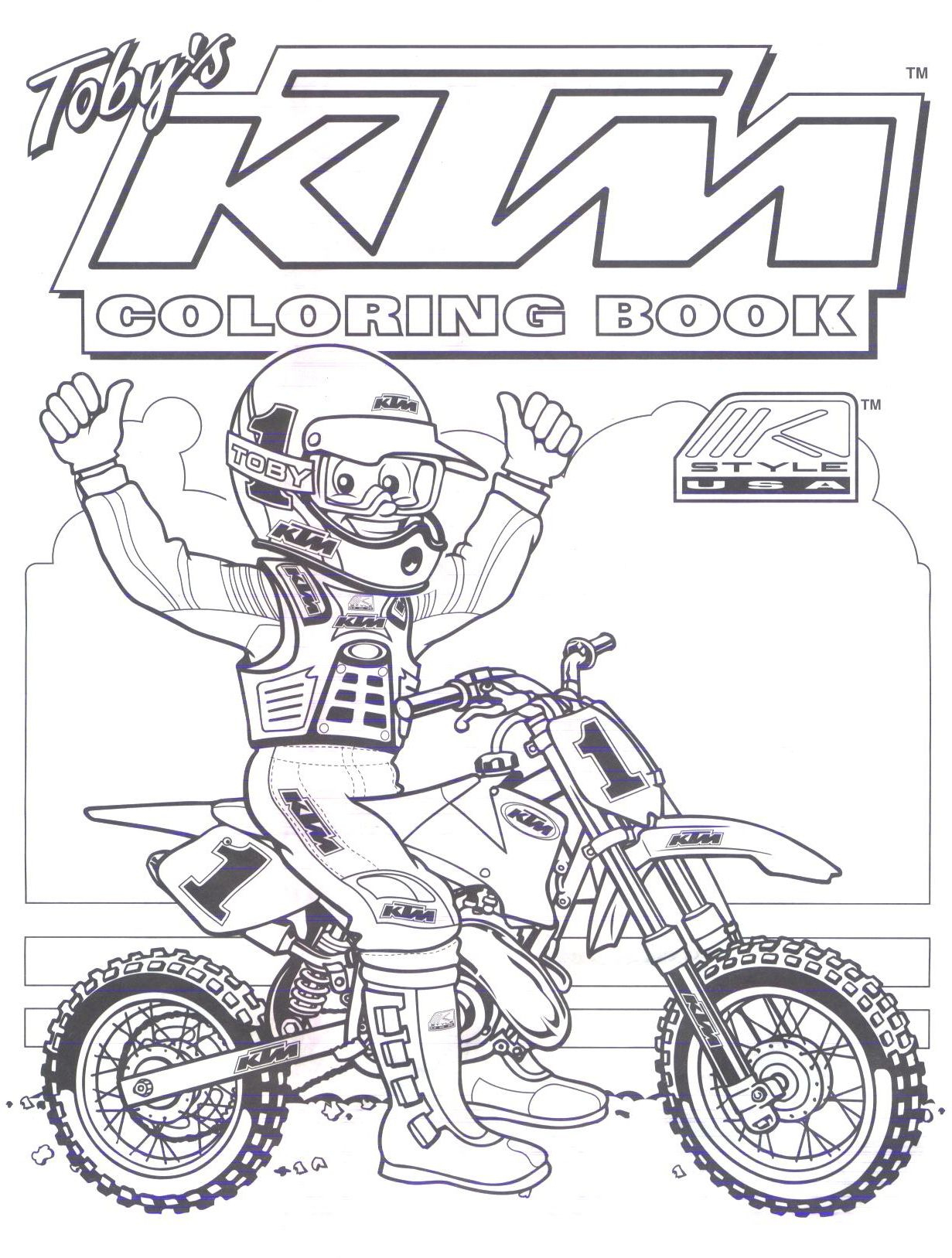 Motocross Ktm Colouring Pages | Dirt Bike Birthday, Ktm tout Moto Cross À Colorier
