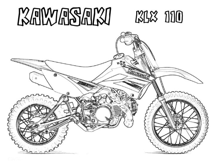 Motorcycle Coloring Pages For Adults - Google Search à Coloriage Moto Cross À Imprimer