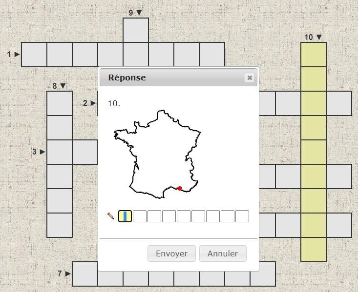 Mots Croisés : Villes De France | Clic ! Ma Classe destiné Clic Ma Classe Coloriage