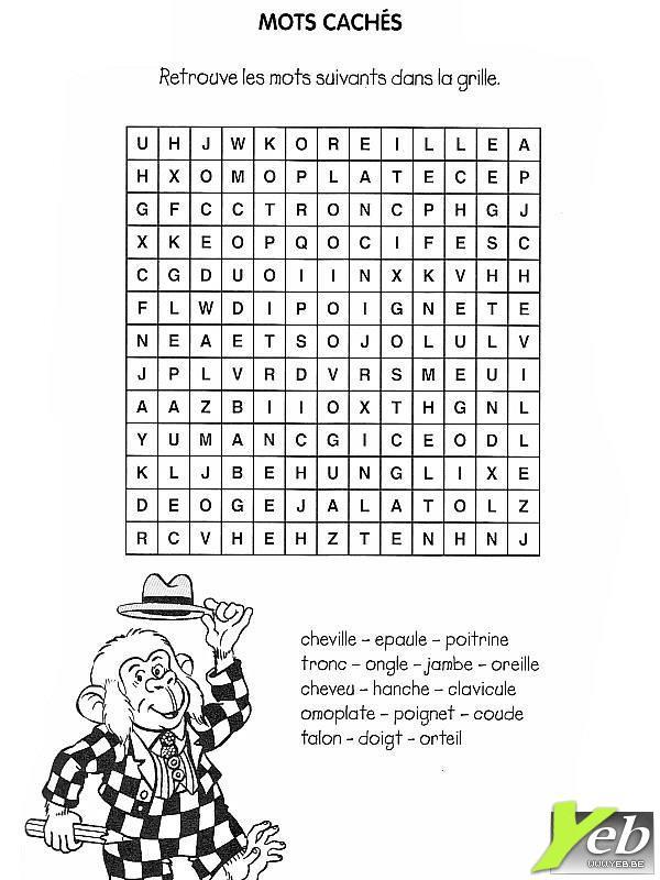 Mots Mystere Facile Imprimer concernant Mots Croises Gratuits A Imprimer