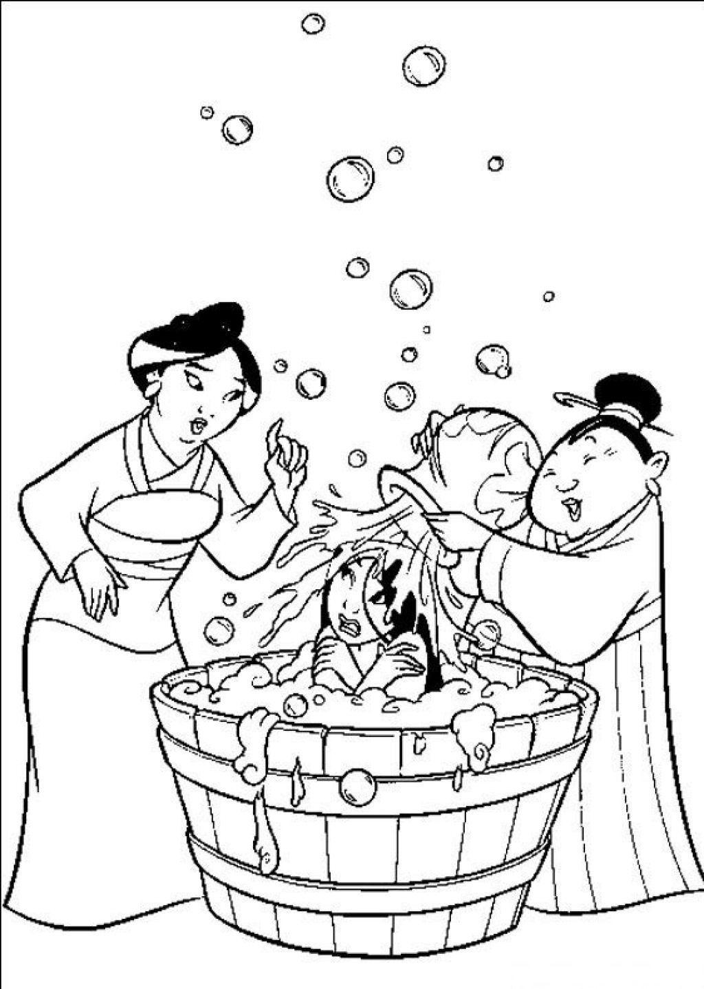Mulan Coloring Page | Disney Coloring Pages, Princess dedans Coloriage Mulan A Imprimer
