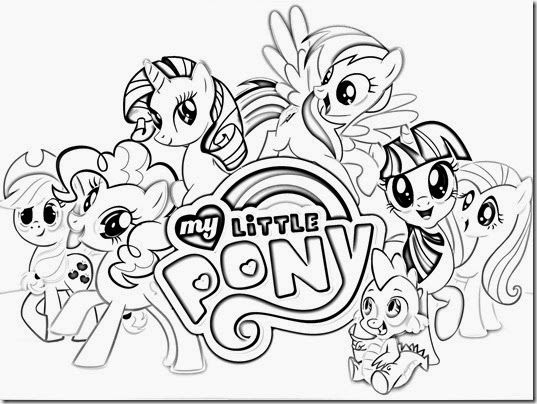 My Little Pony Coloring Pages Free | Color Something tout Coloriage Gratuit My Little Pony
