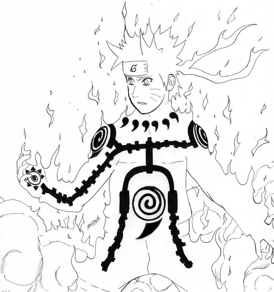Naruto Coloriage En Ligne | Imprimer Et Obtenir Une avec Dessin Naruto