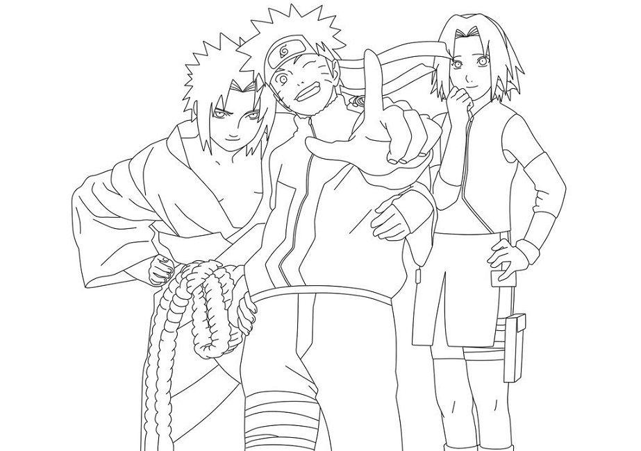 Naruto Coloring Pages Games | Coloriage Naruto, Dessin à Naruto Coloriage