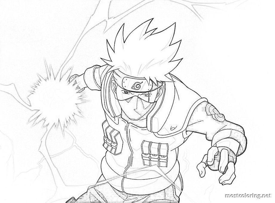 Naruto Coloring Pages Kakashi | Coloring Pages Printable encequiconcerne Naruto Shipuden Coloriage