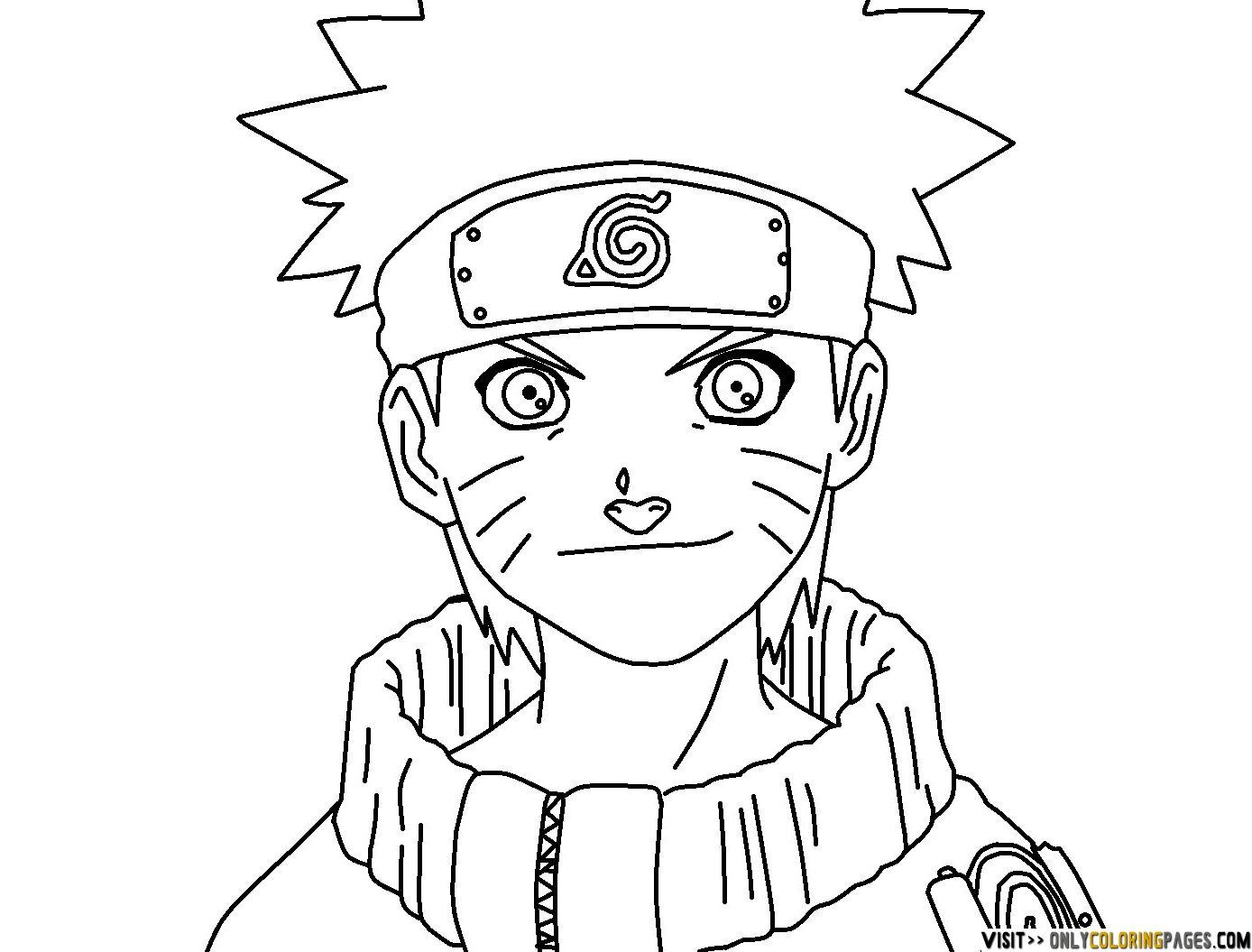 Naruto Coloring Pages, Printable Naruto Coloring Pages intérieur Naruto Shippuden Coloring Pages