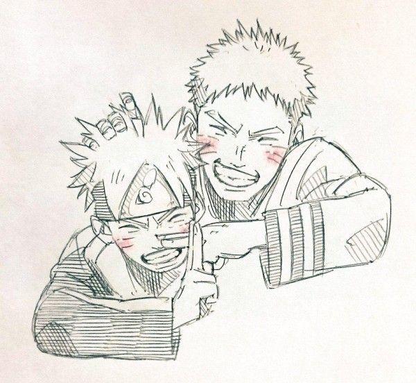 #Naruto Et #Boruto #Dessin しゅんすけ #Manga pour Dessin De Na Ruto A In Primer
