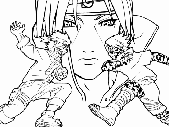 Naruto Image A Colorier Inspirant Dessin Difficile Le serapportantà Coloriage De Naruto