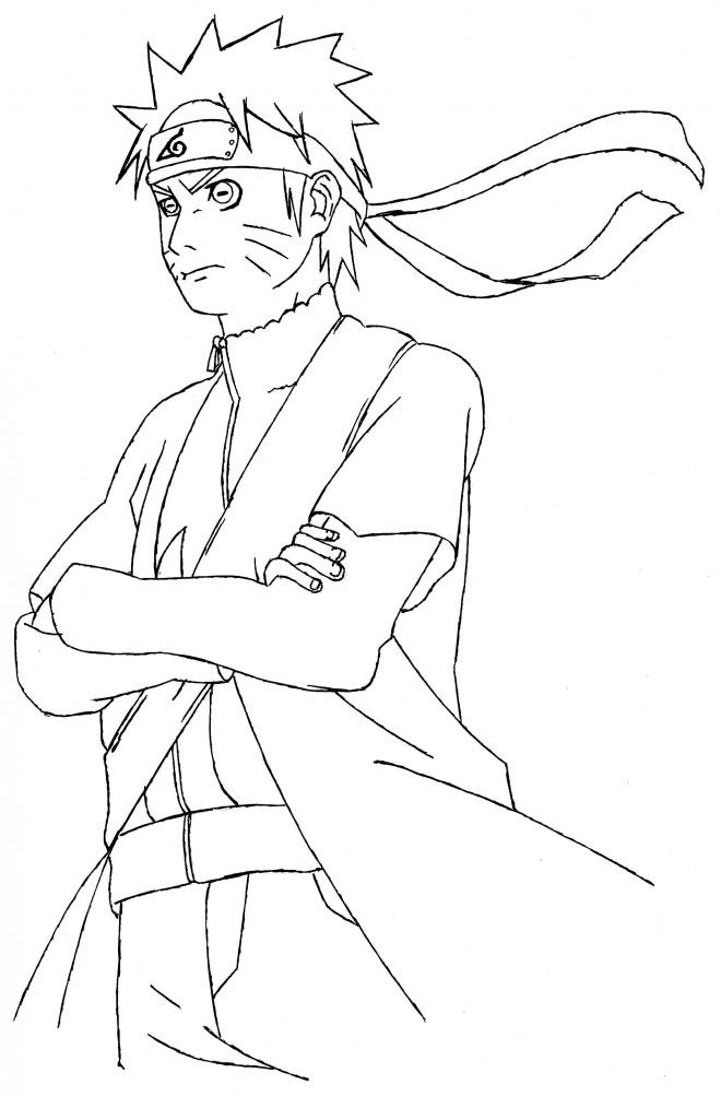 Naruto Mode Sennin - Dessin De Mangakadu68 Posté Sur Tvhland dedans Dessin De Naruto
