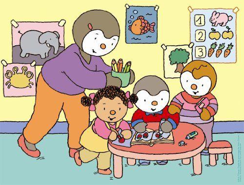 Nathan - 86311 - Puzzle Enfant Classique - T'Choupi À L destiné T'Choupi ? L'?Cole