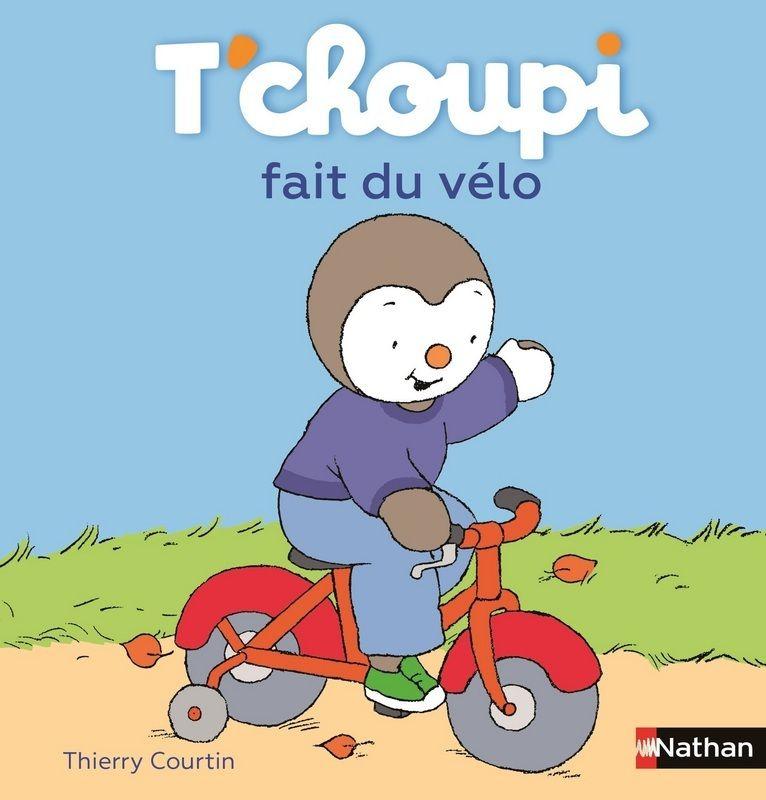 Nathan Livre - Tchoupi Fait Du Vélo | Livre Tchoupi avec Tchoupi Velo