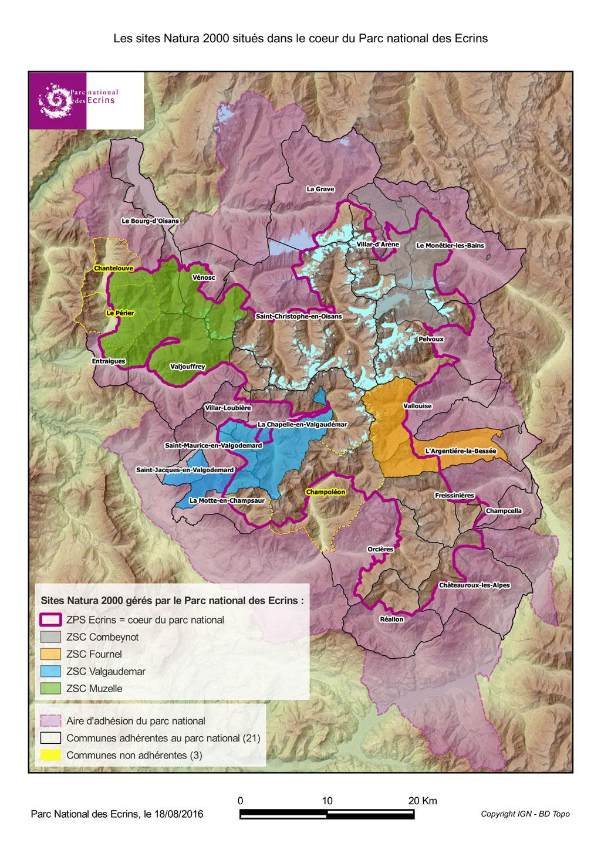 Natura 2000 | Parc National Des Ecrins encequiconcerne Parc Des Ecrins