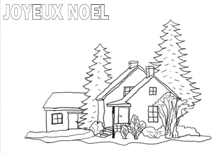 Nature Scenery: Paysage De Noel A Imprimer Gratuit à Coloriage A Imprimer Paysage Nature