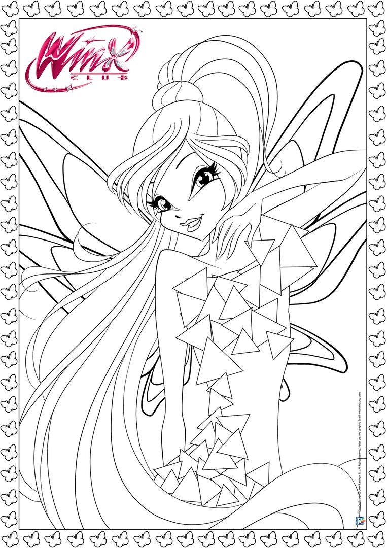 New Winx Club Tynix Official Coloring Pages! | Thewinxfate avec Coloriage De Winx Club