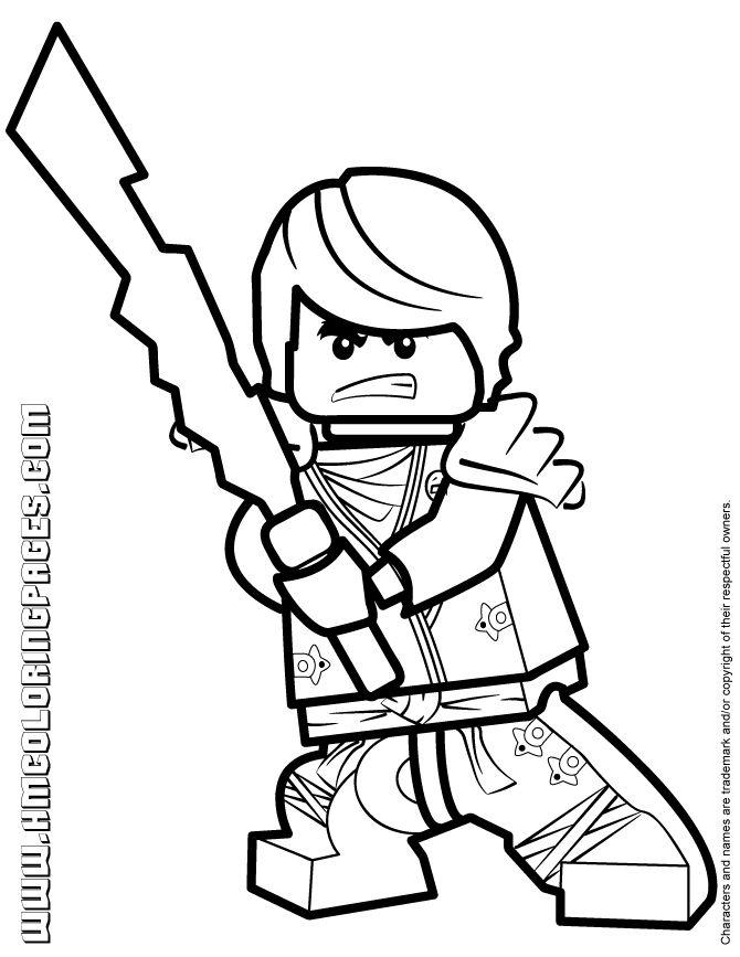 Ninjago Cole Kx With Elemental Blade Coloring Page   Lego encequiconcerne Coloriage Lego Ninjago
