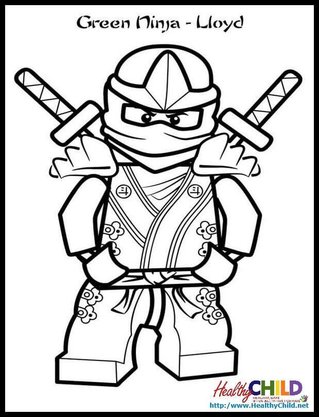 Ninjago Lloyd Zx Lego Ninjago Coloring Pages,Lego Ninjago intérieur Coloriage Ninjago