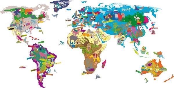 Nos Adresses Coup De Cœur Pour Décorer La Chambre Des avec Dessin De Tout Les Animaux Du Monde
