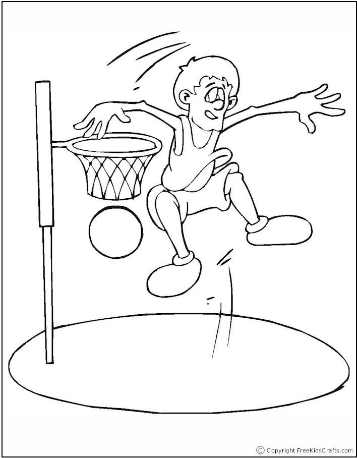Nos Jeux De Coloriage Basketball À Imprimer Gratuit - Page concernant 25 Coloriage De Basketball A Imprimer Gratuit