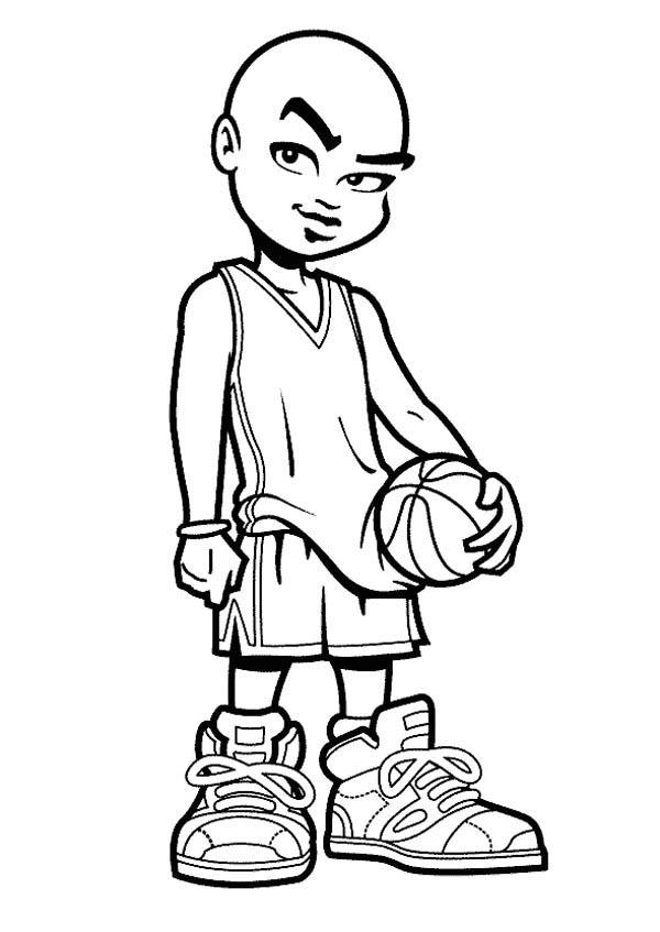 Nos Jeux De Coloriage Basketball À Imprimer Gratuit - Page tout 25 Coloriage De Basketball A Imprimer Gratuit