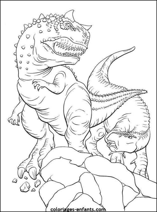 Nos Jeux De Coloriage Dinosaure À Imprimer Gratuit - Page pour Coloriage De Dinosaure Gratuit