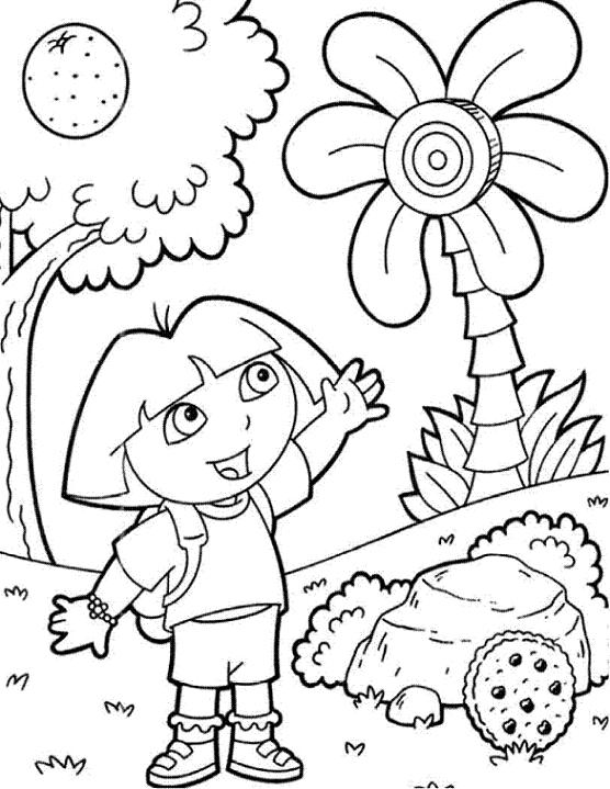 Nos Jeux De Coloriage Dora À Imprimer Gratuit - Page 6 Of 14 encequiconcerne Jeux De Dessin Dora