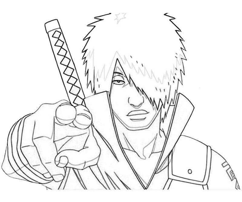 Nos Jeux De Coloriage Naruto À Imprimer Gratuit - Page 2 Of 14 à Dessin A Imprimer De Naruto