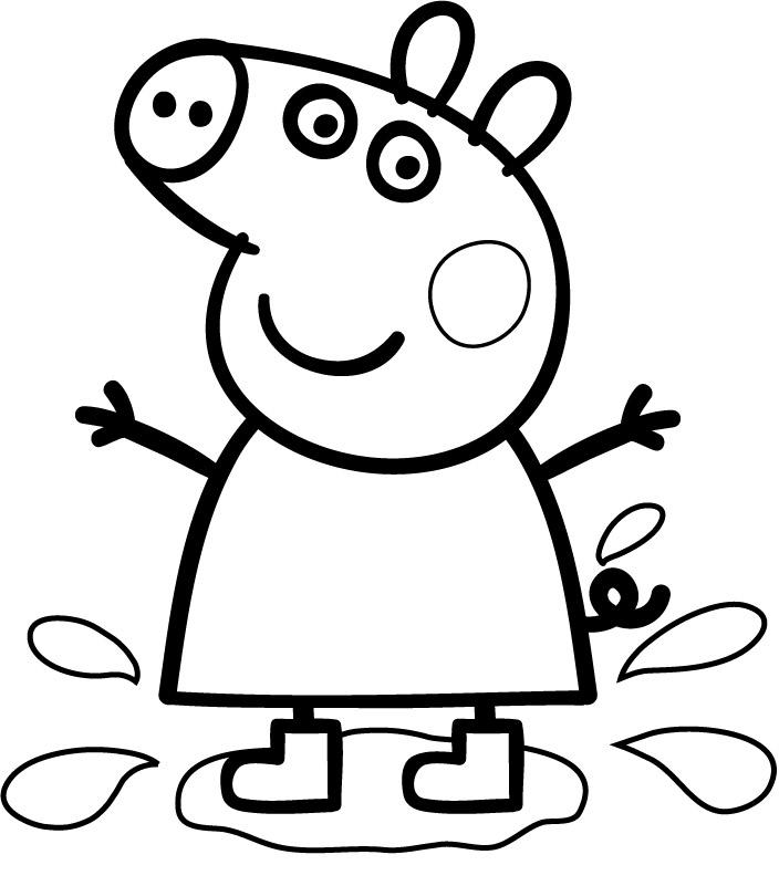 Nos Jeux De Coloriage Peppa Pig À Imprimer Gratuit - Page à Jeux Peppa Pig Gratuit