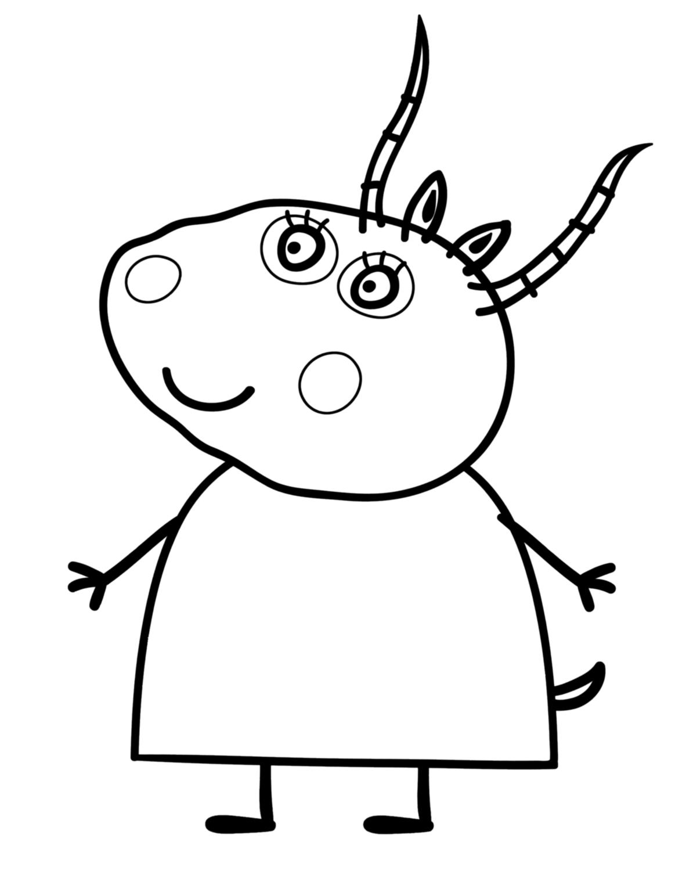 Nos Jeux De Coloriage Peppa Pig À Imprimer Gratuit pour Coloriage Peppa Pig