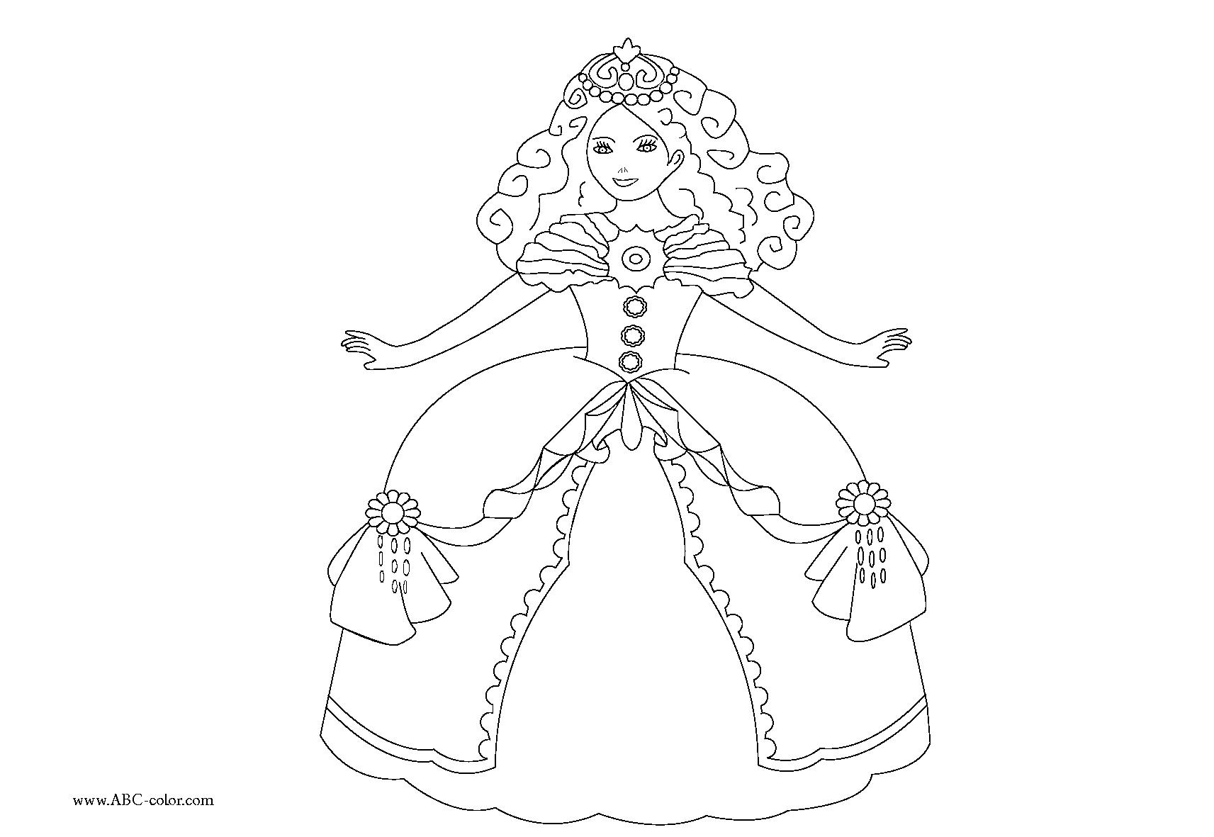 Nos Jeux De Coloriage Princesse À Imprimer Gratuit encequiconcerne Coloriage De Princesse À Imprimer Gratuit