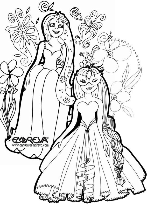 Nos Jeux De Coloriage Princesse À Imprimer Gratuit - Page dedans Coloriage De Princesse À Imprimer Gratuit