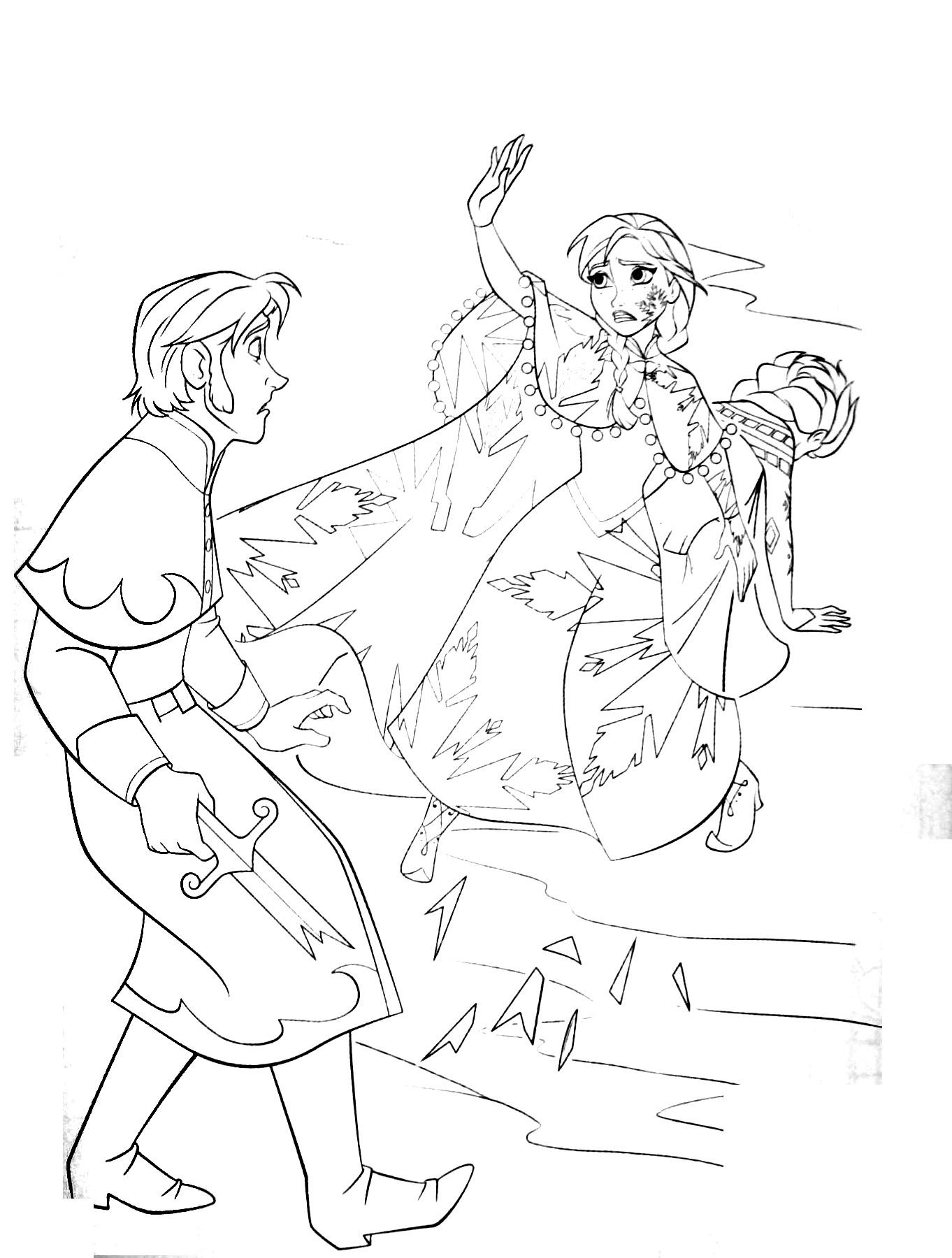 Nos Jeux De Coloriage Reine Des Neiges À Imprimer Gratuit destiné Jeux De Reine Des Neige Gratuit