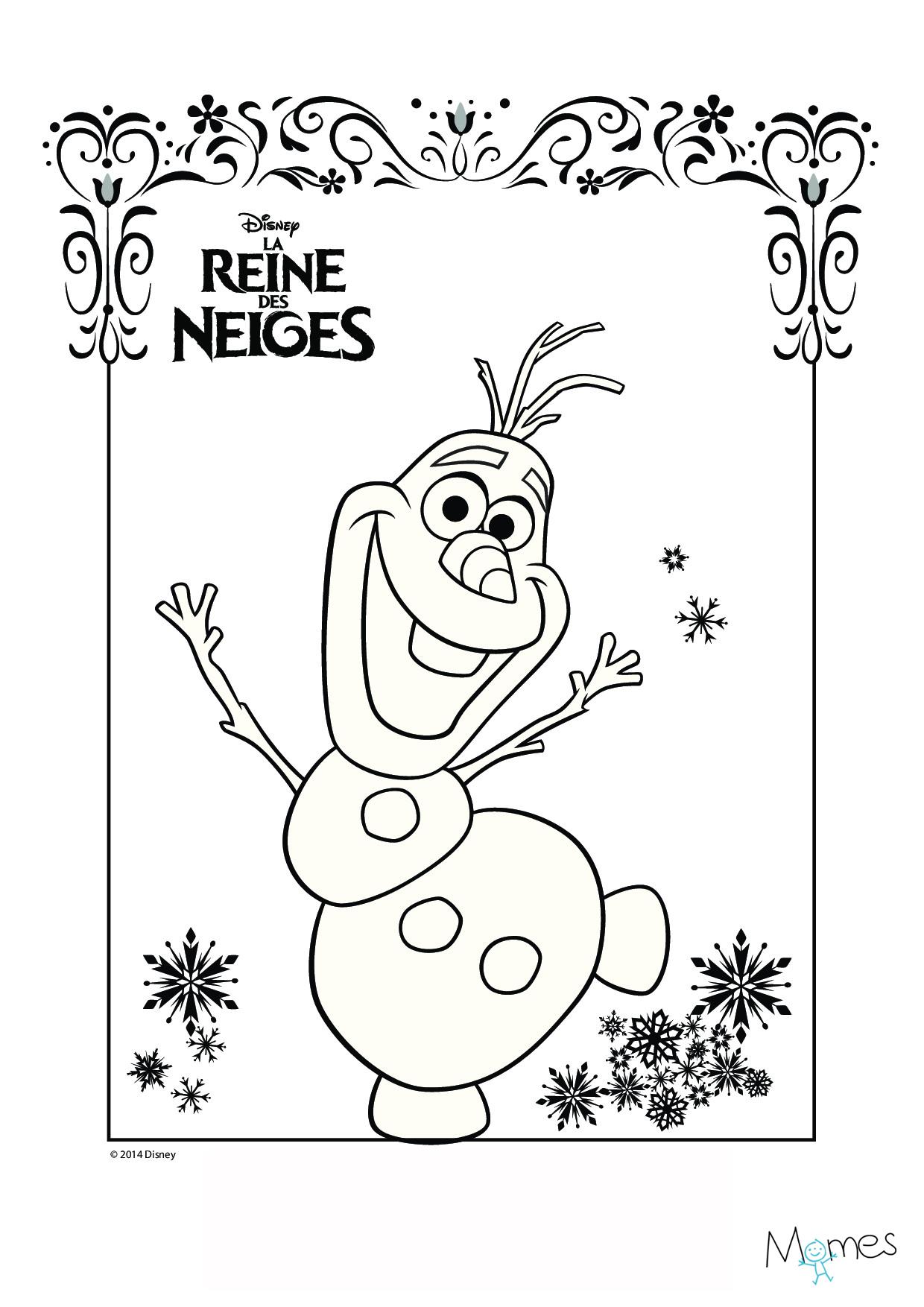 Nos Jeux De Coloriage Reine Des Neiges À Imprimer Gratuit serapportantà Reine Des Neige A Colorier