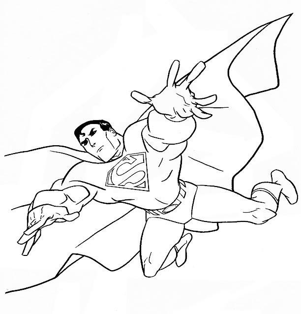 Nos Jeux De Coloriage Superman À Imprimer Gratuit dedans Coloriage Superman A Imprimer Gratuit